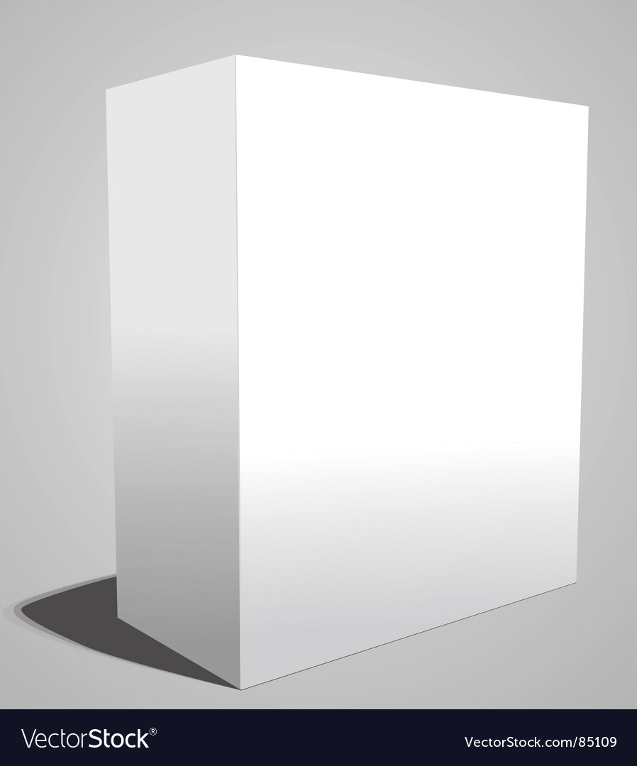 White box vector | Price: 1 Credit (USD $1)