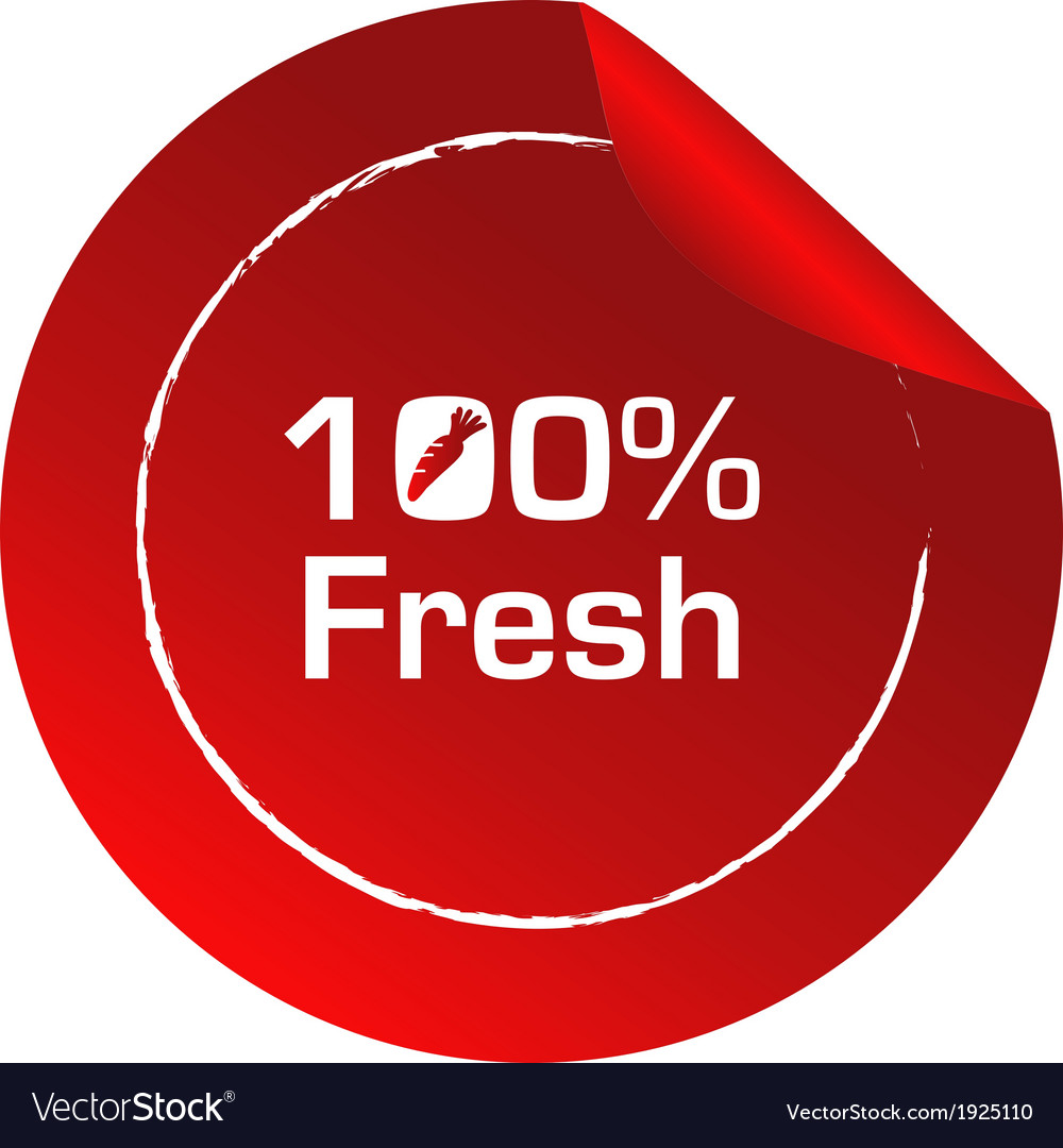 A fresh label template vector   Price: 1 Credit (USD $1)