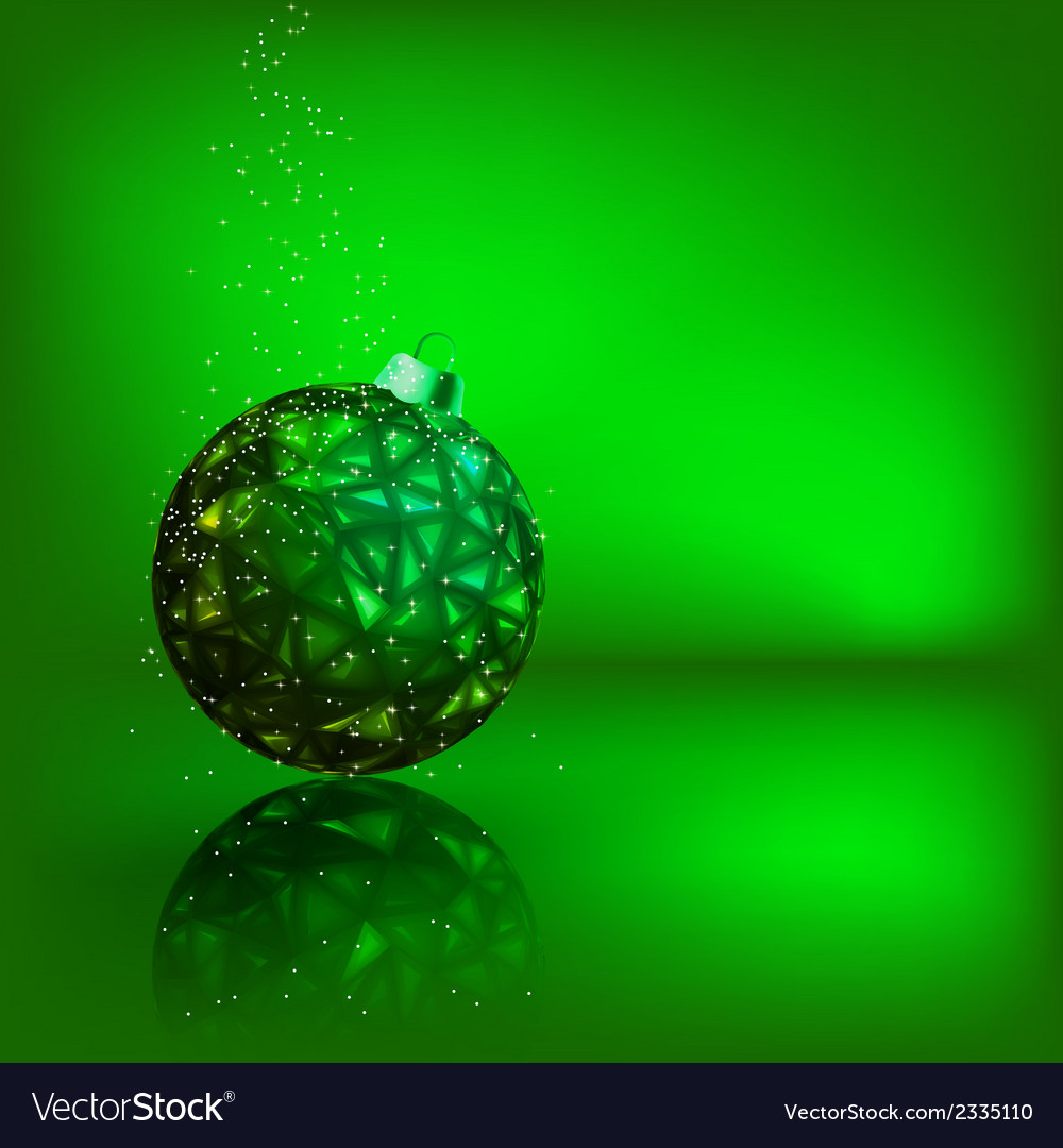 Background with stars and christmas ball eps 8 vector   Price: 1 Credit (USD $1)