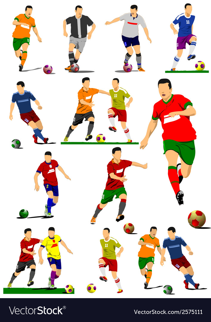 Al 0449 soccer vector | Price: 1 Credit (USD $1)