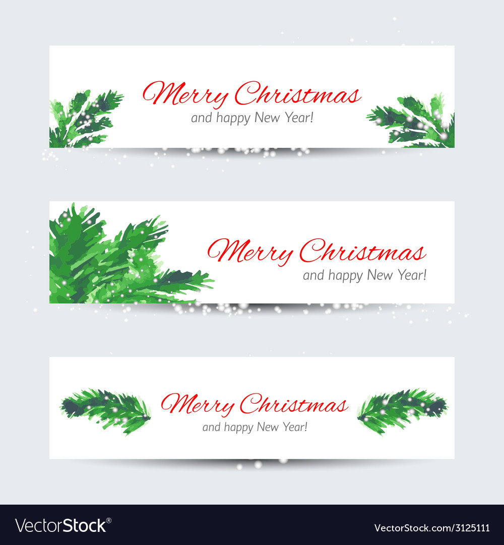 Christmas tree brunches vector | Price: 1 Credit (USD $1)