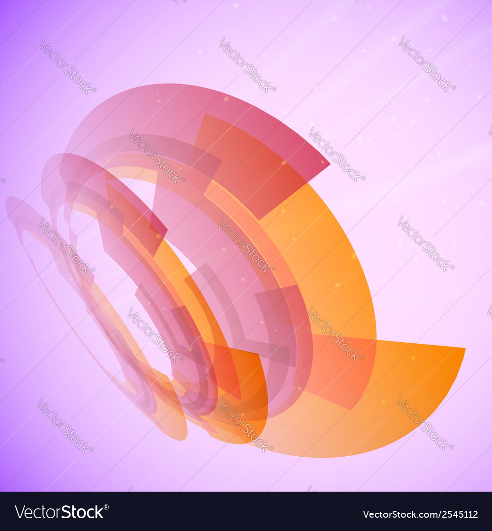 Abstract background in techno style vector | Price: 1 Credit (USD $1)