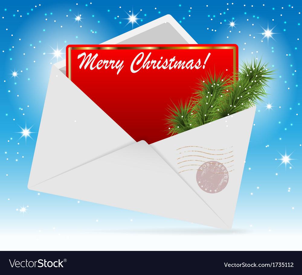 Envelope card vector | Price: 1 Credit (USD $1)