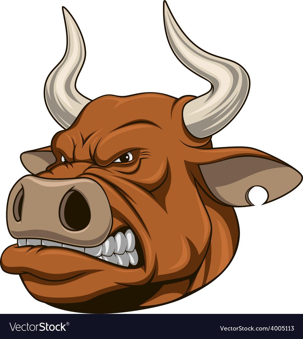 Ferocious bull vector   Price: 3 Credit (USD $3)