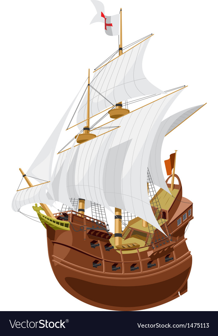 Galleon vector | Price: 3 Credit (USD $3)
