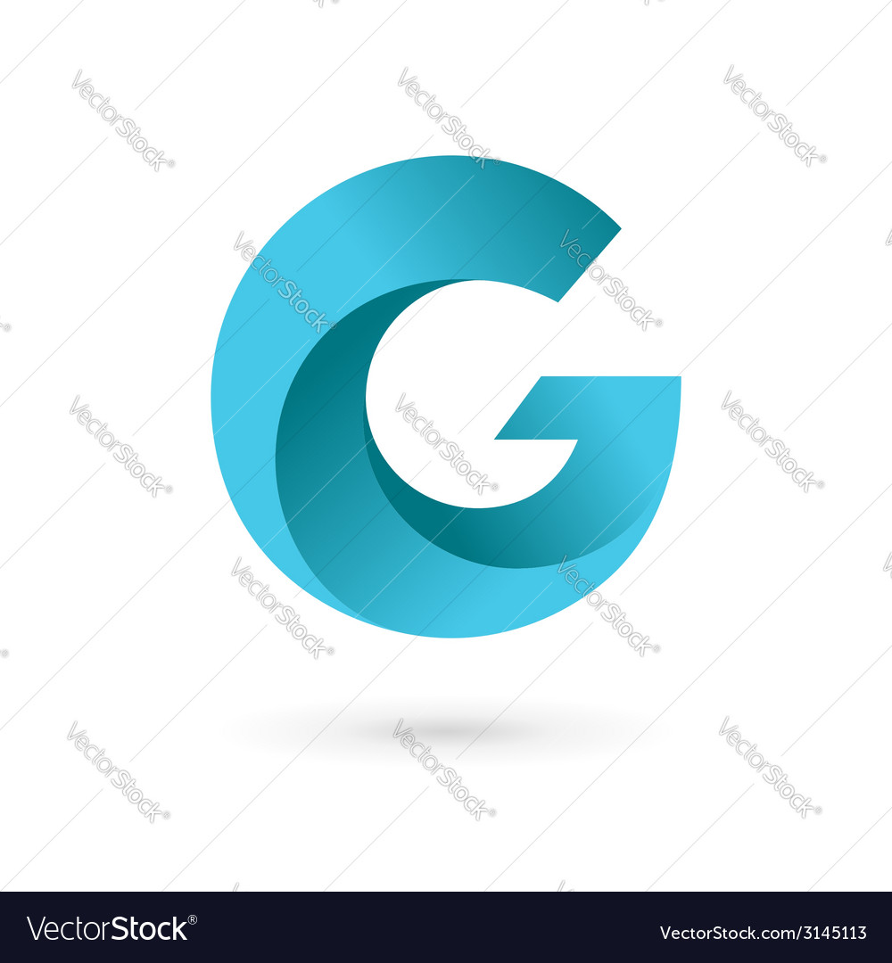 Letter g logo icon design template elements vector | Price: 1 Credit (USD $1)