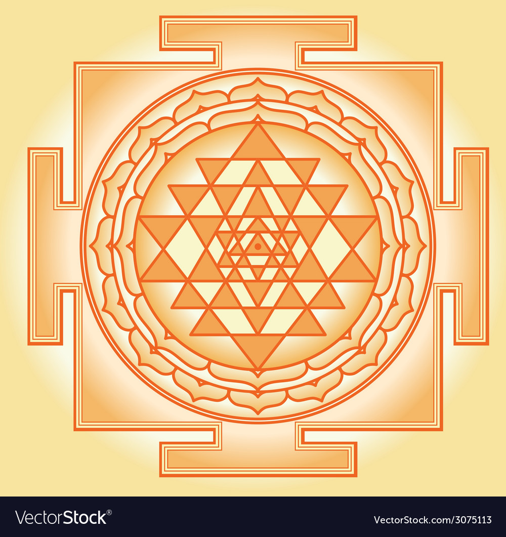 Shri chakra yantra vector | Price: 1 Credit (USD $1)