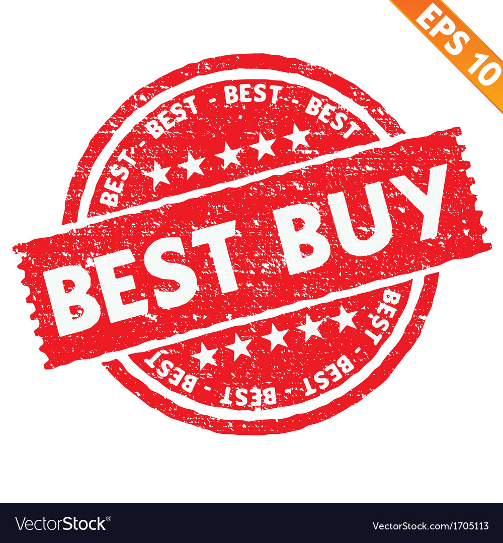 Stamp sticker best buy collection - - eps10 vector | Price: 1 Credit (USD $1)