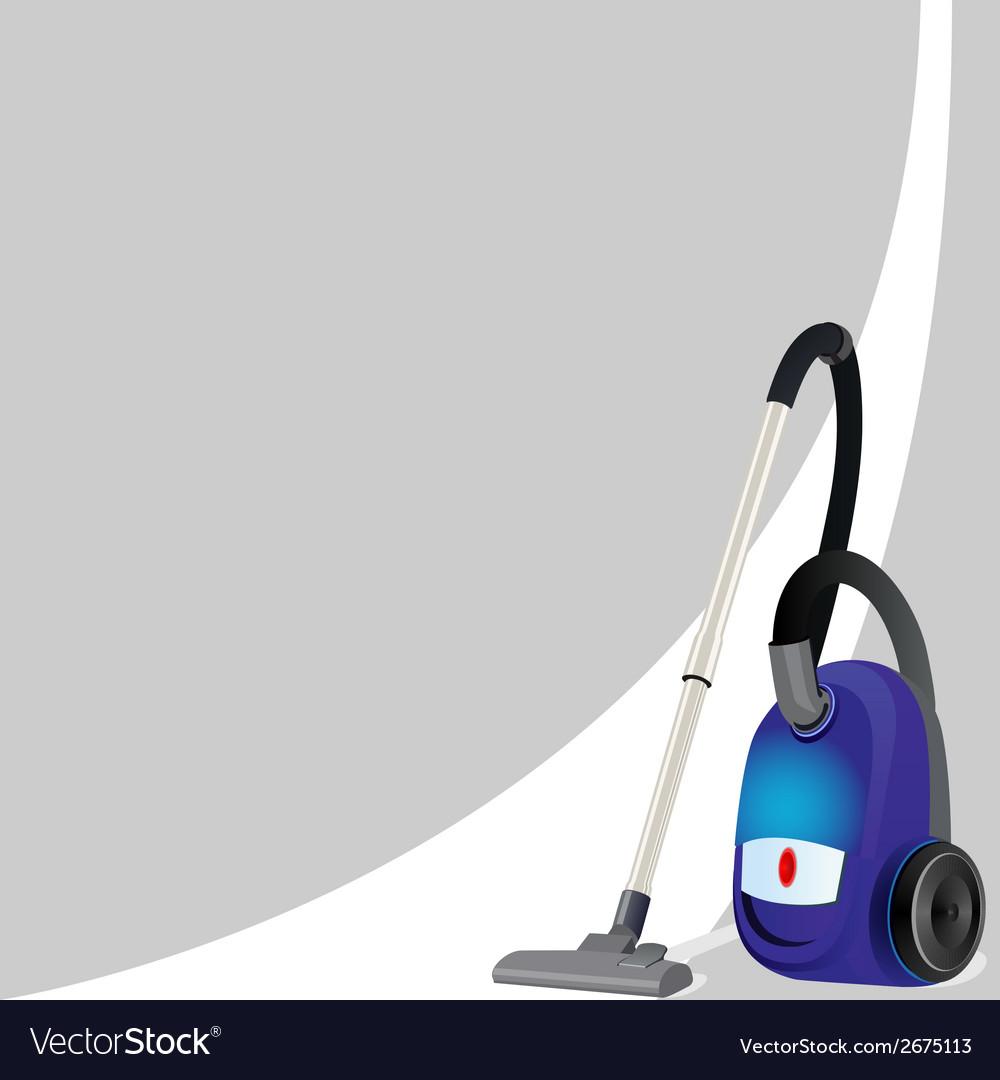 Vacuum cleaner vector | Price: 1 Credit (USD $1)