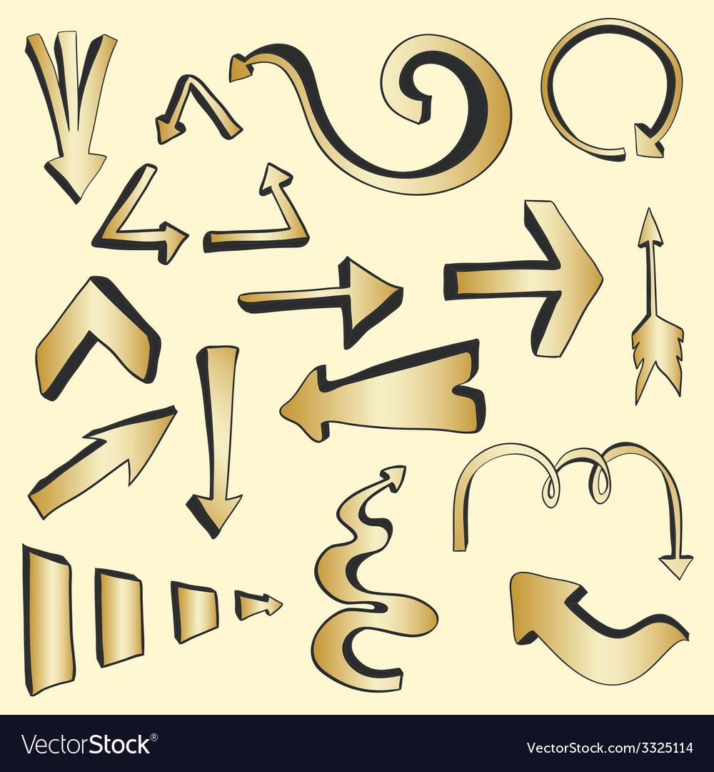 Arrows3 vector | Price: 1 Credit (USD $1)