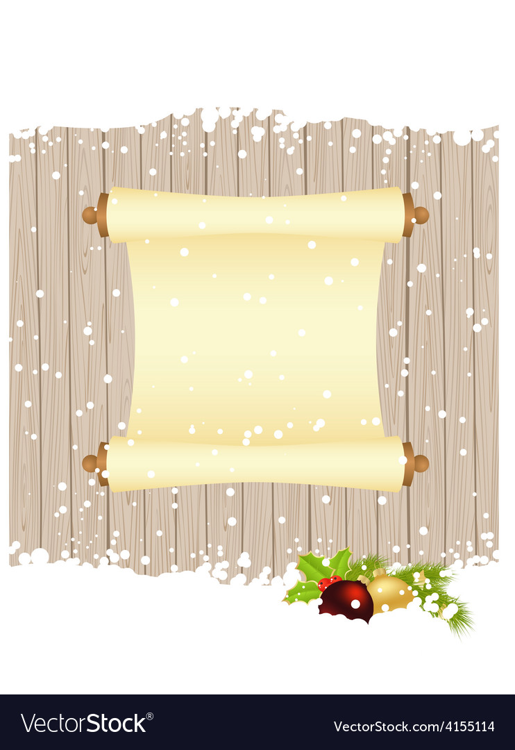 Christmas fence 2311 01 vector | Price: 1 Credit (USD $1)