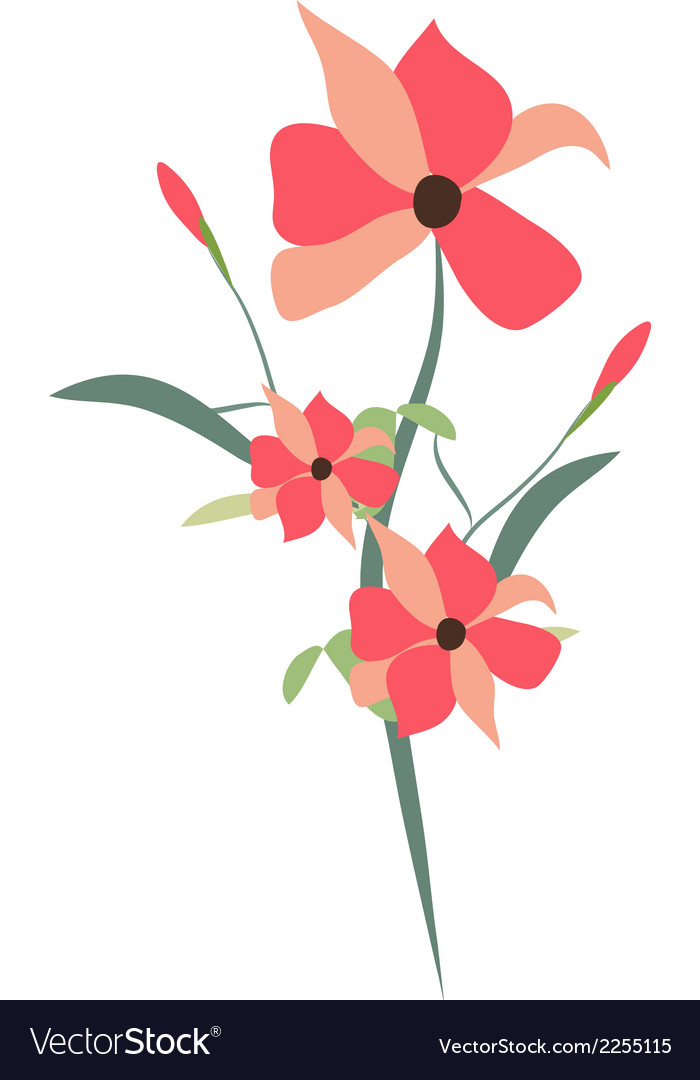 Beauty floral bouquets vector | Price: 1 Credit (USD $1)