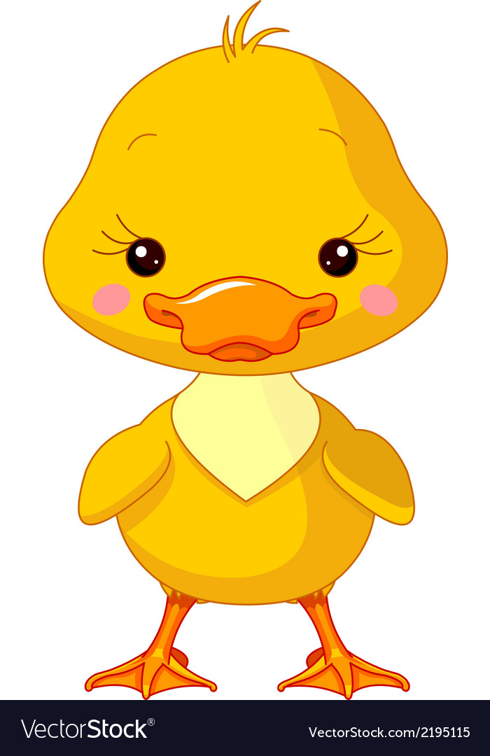 Farm animals duck vector | Price: 1 Credit (USD $1)