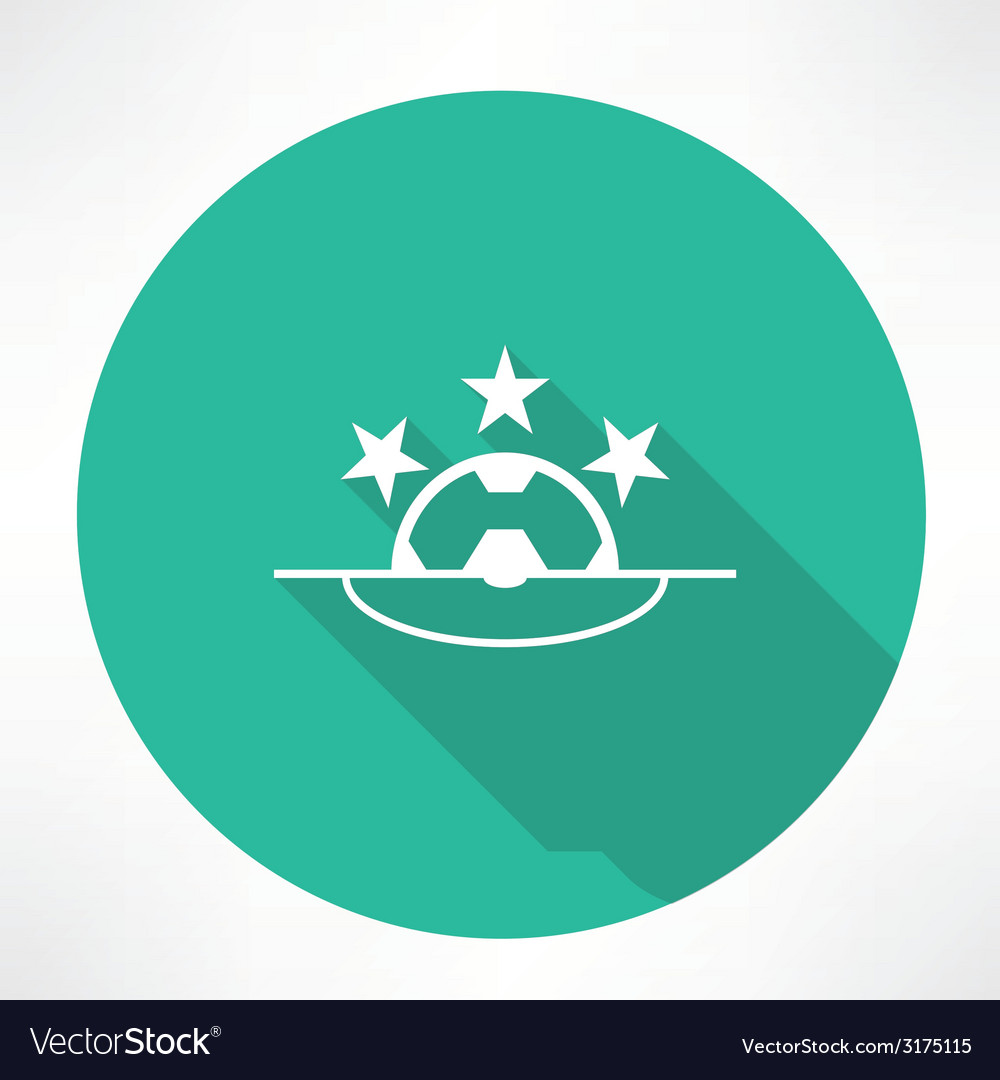 Football league icon vector | Price: 1 Credit (USD $1)