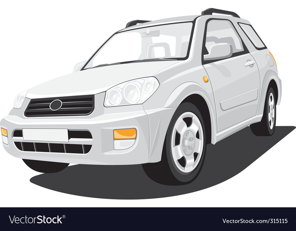 Sports utility vehicle vector | Price: 3 Credit (USD $3)