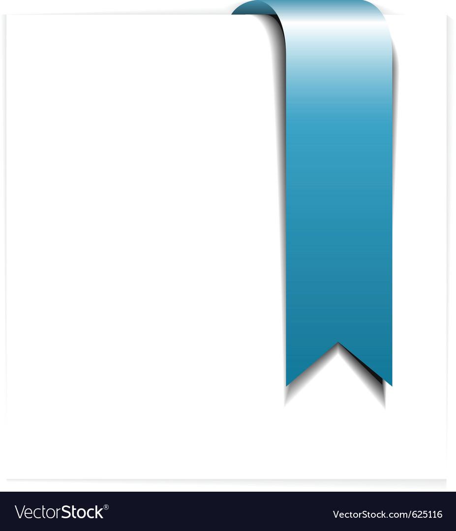 Fresh blue ribbon vector   Price: 1 Credit (USD $1)