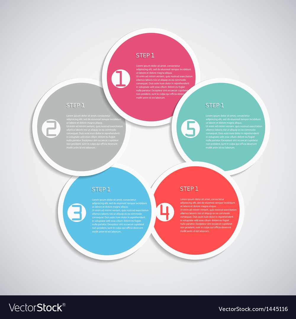 Infographic template vector   Price: 1 Credit (USD $1)