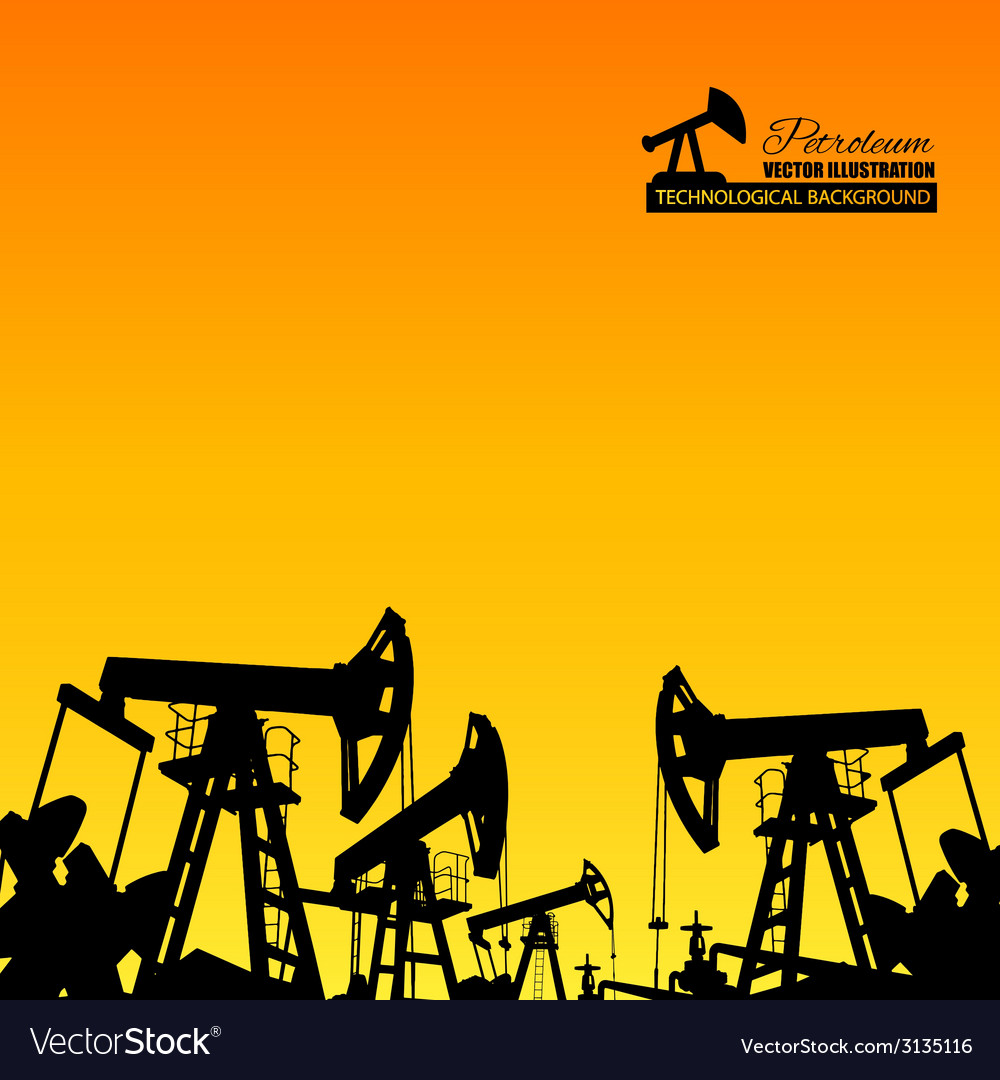 Oil industry vector | Price: 1 Credit (USD $1)