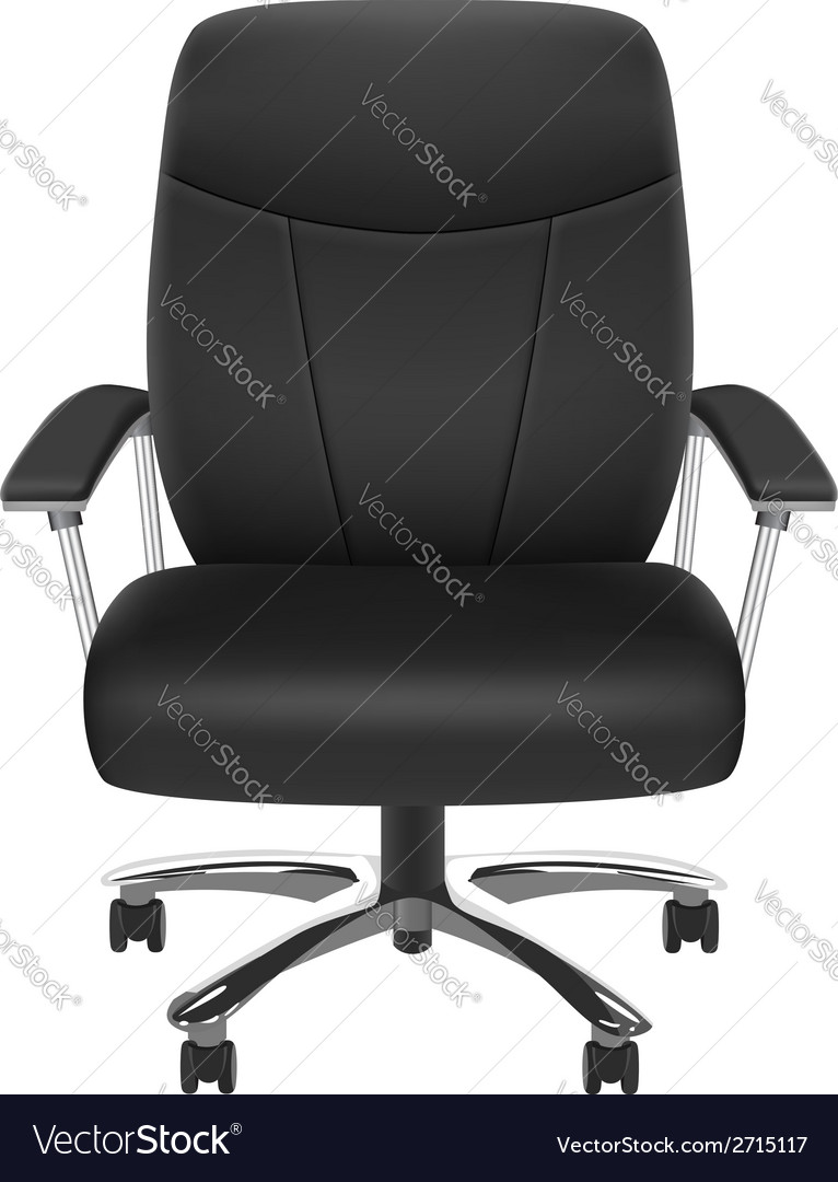 Black chair vector | Price: 1 Credit (USD $1)