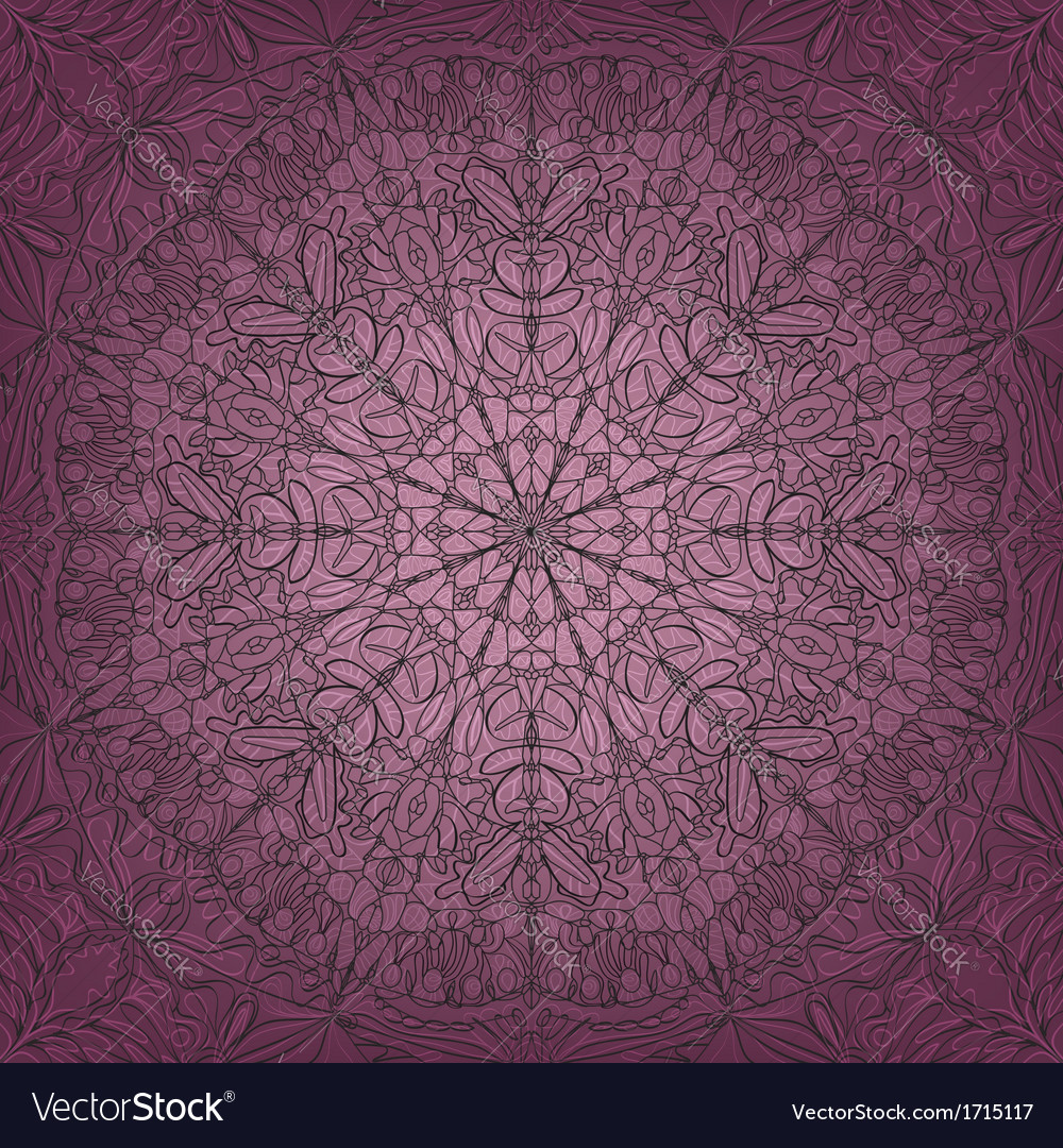 Lace seamless pattern - vector | Price: 1 Credit (USD $1)