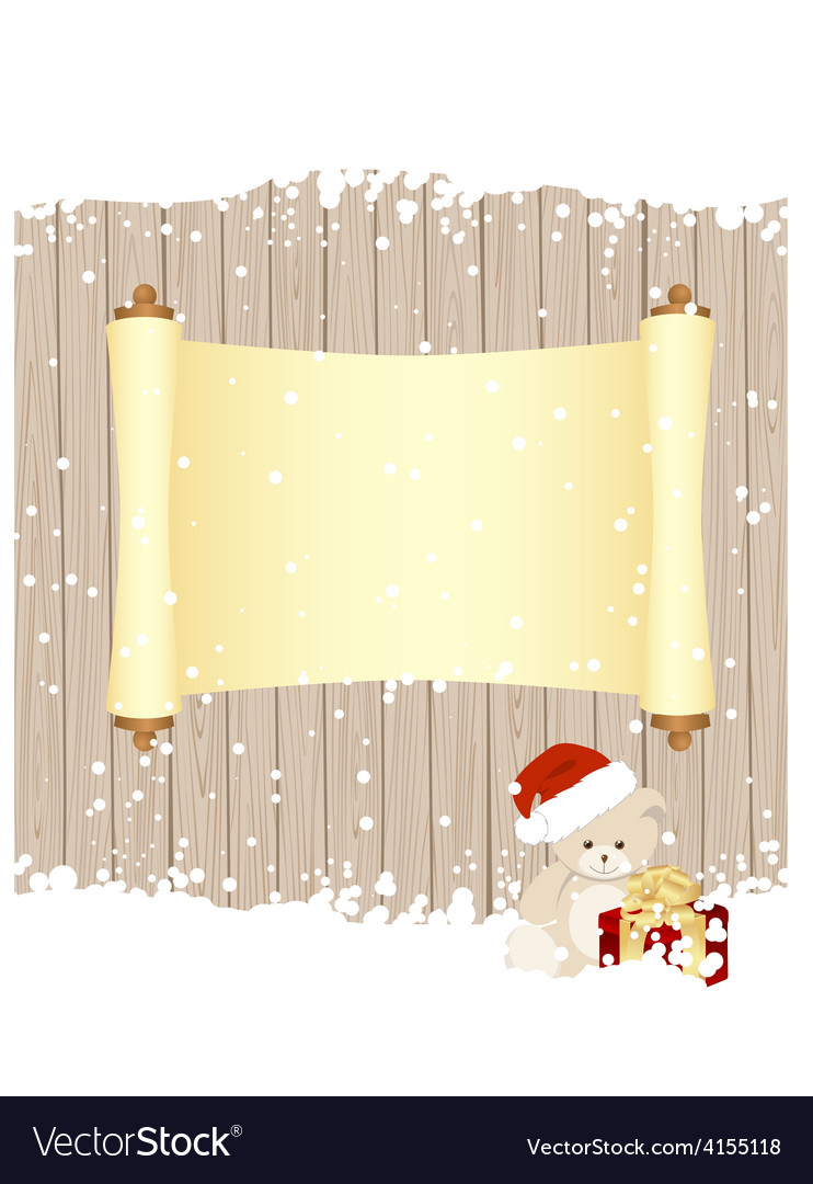 Christmas fence vector | Price: 1 Credit (USD $1)