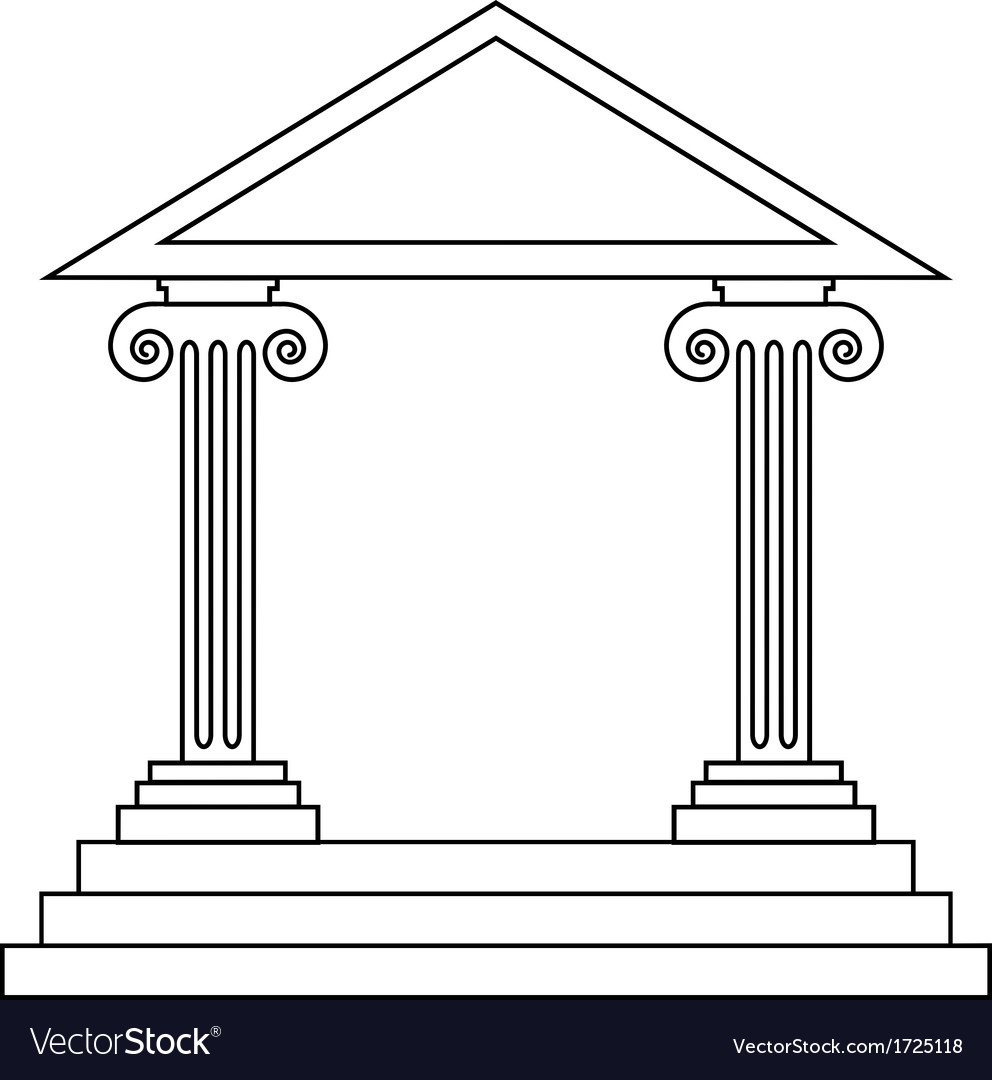 Historical building vector | Price: 1 Credit (USD $1)