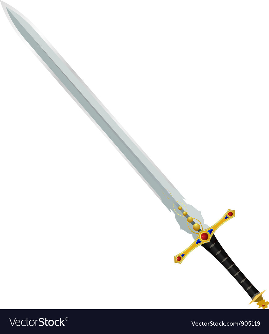An ancient sword vector | Price: 1 Credit (USD $1)