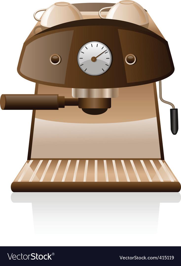 Espresso machine vector | Price: 3 Credit (USD $3)