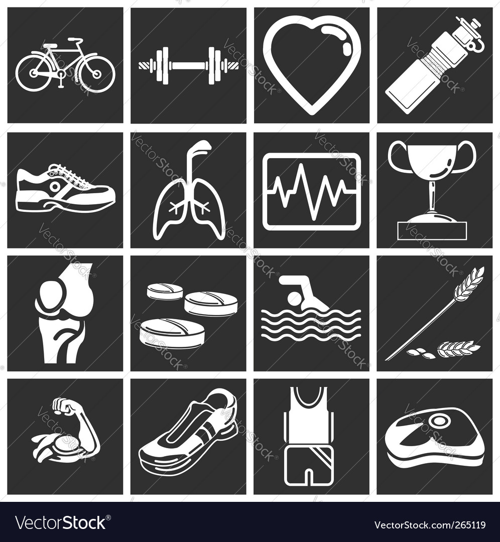 Health and fitness vector | Price: 1 Credit (USD $1)