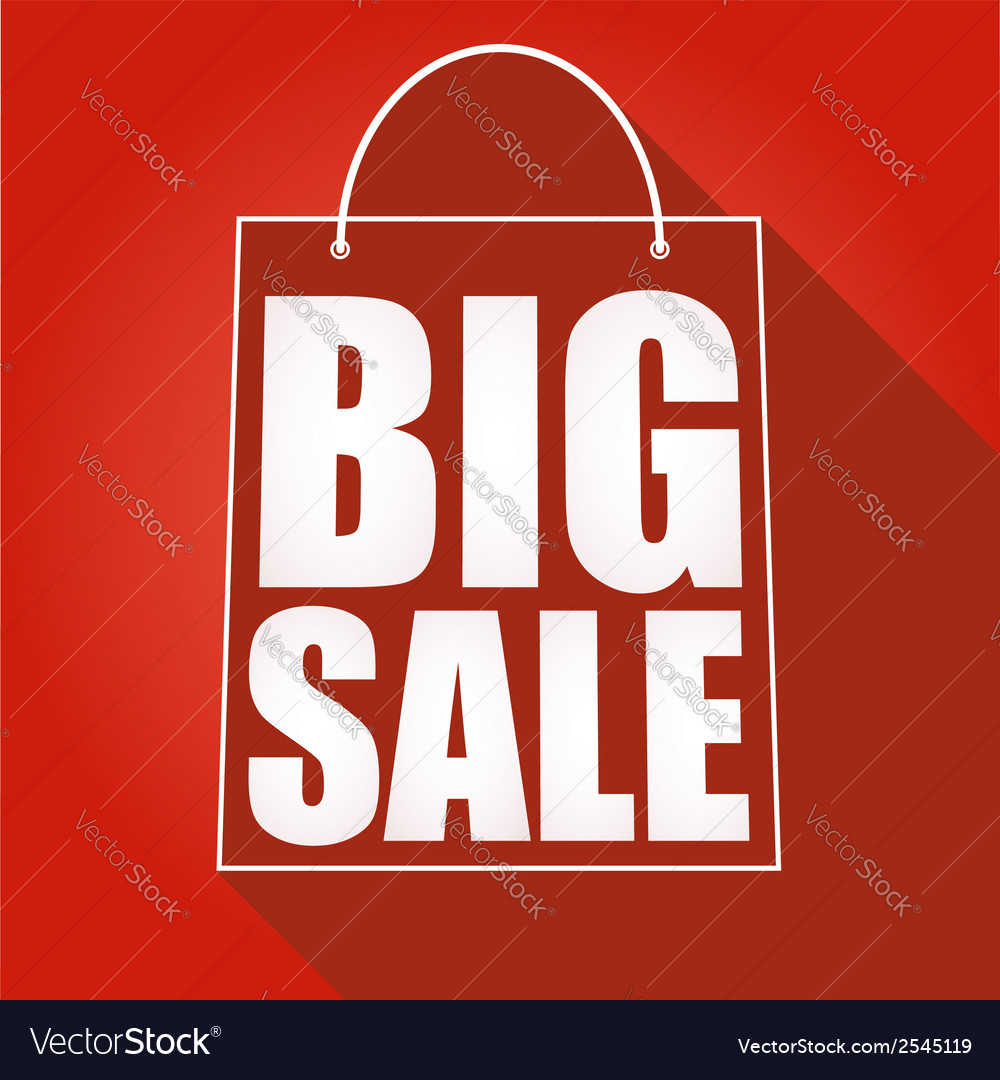 Poster big sale vector | Price: 1 Credit (USD $1)