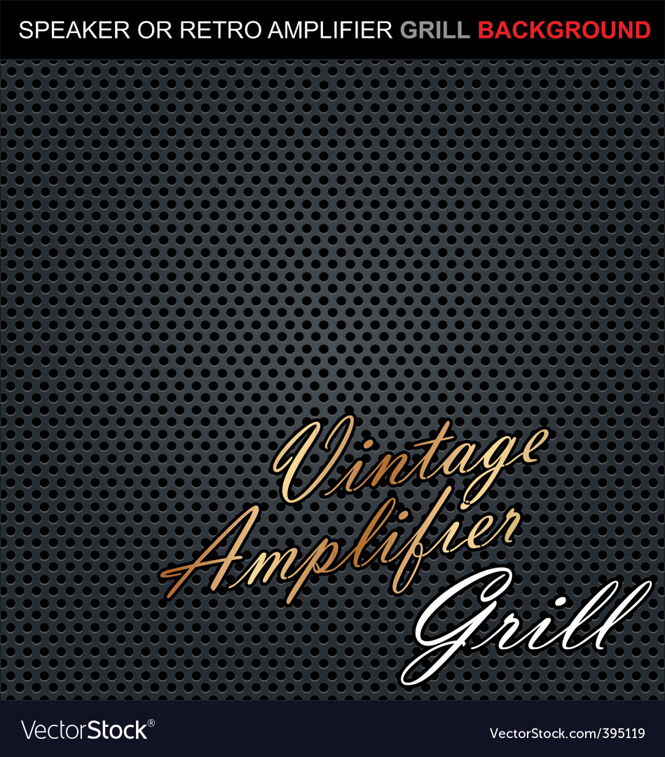 Speaker grill background vector | Price: 1 Credit (USD $1)