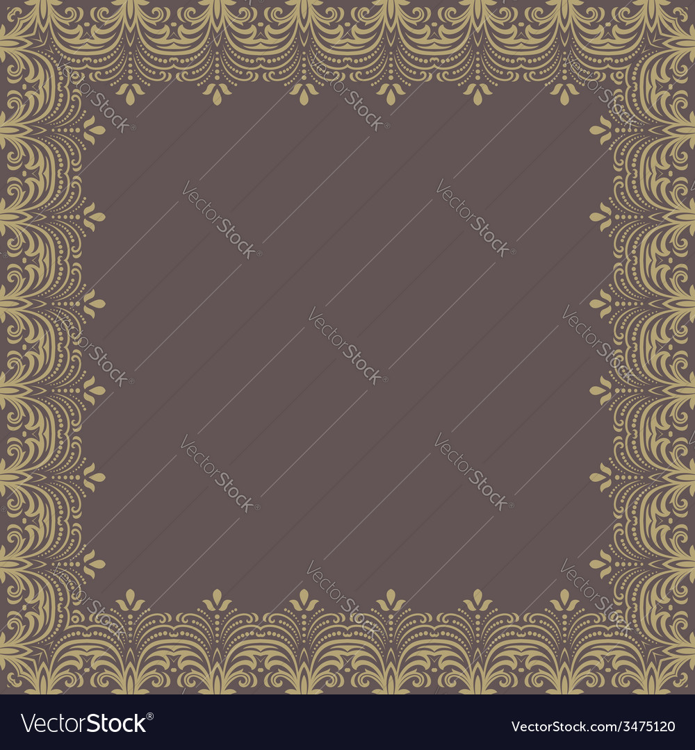 Floral pattern abstract ornament vector   Price: 1 Credit (USD $1)