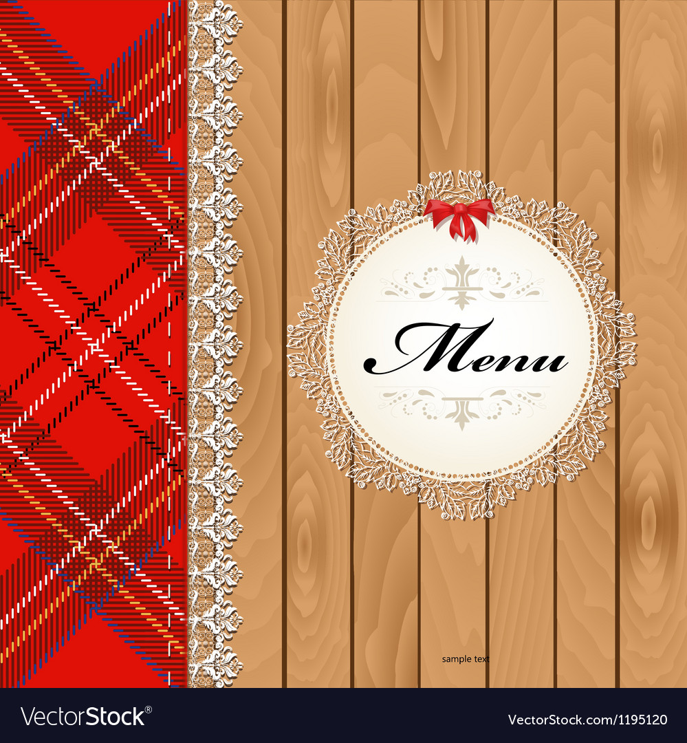 Scottish menu vector | Price: 1 Credit (USD $1)