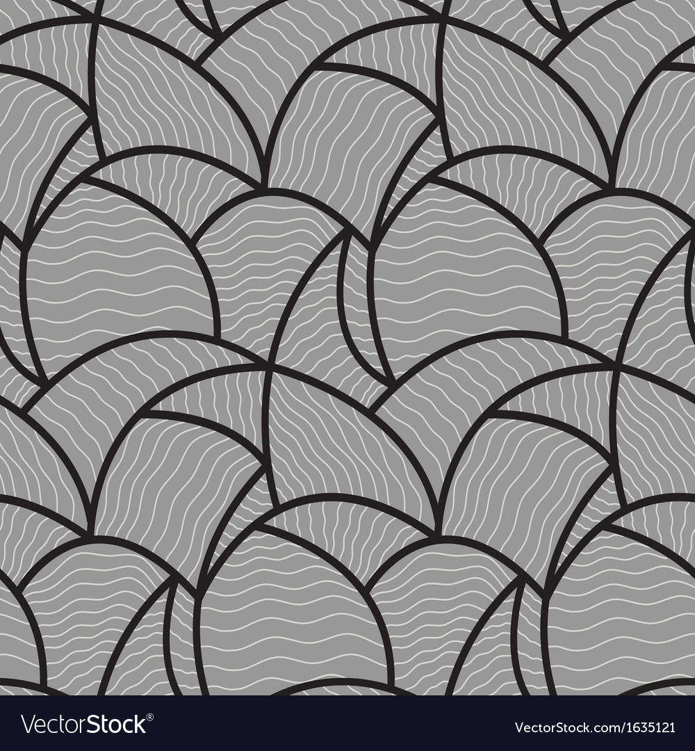 Abstract wave pattern seamless vector