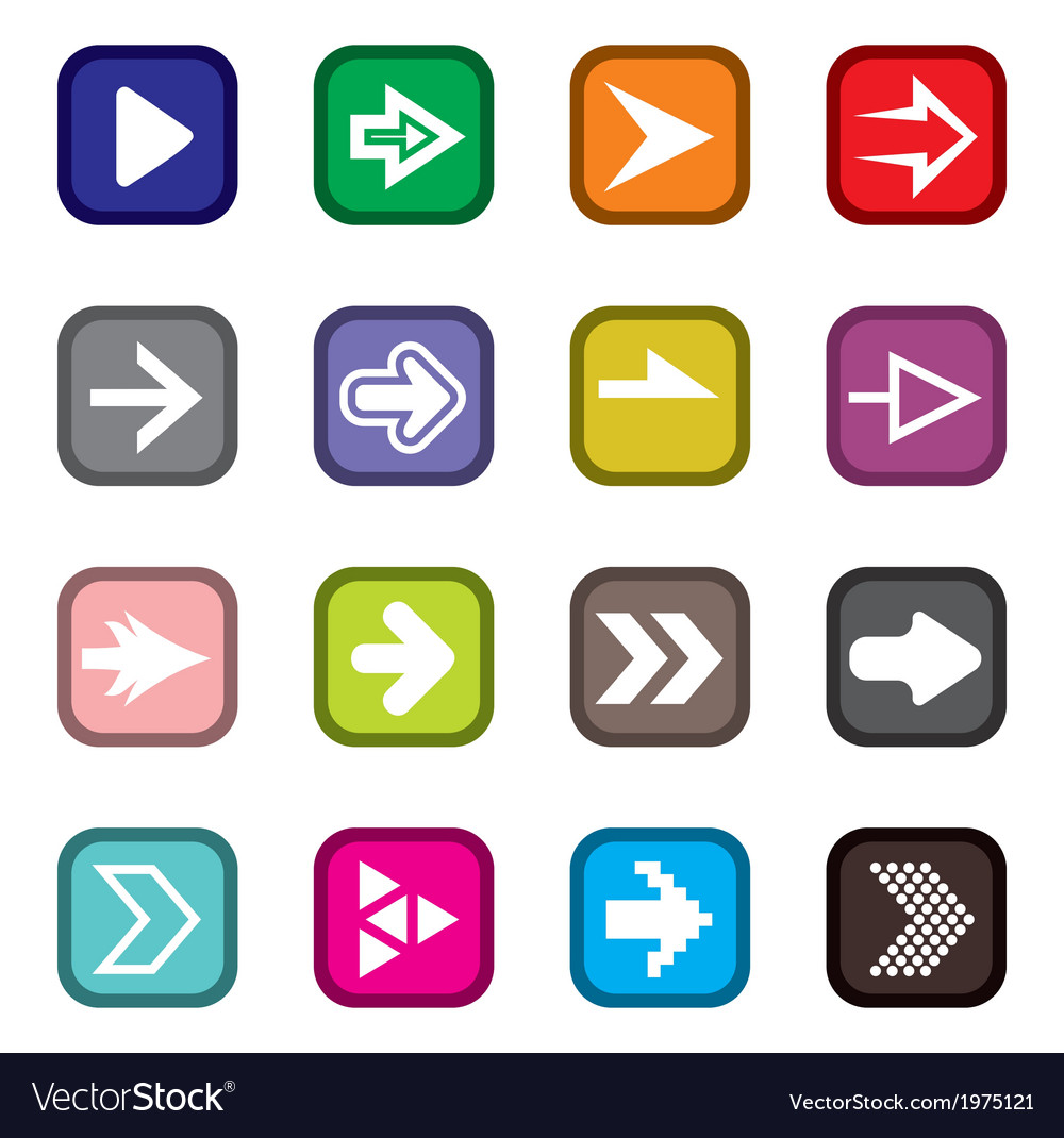 Arrow icons3 vector | Price: 1 Credit (USD $1)