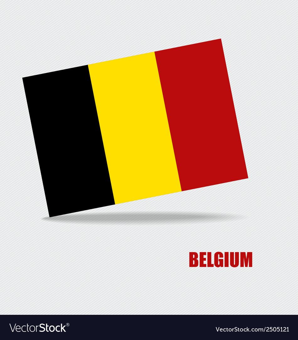 Belgium flags concept design vector   Price: 1 Credit (USD $1)