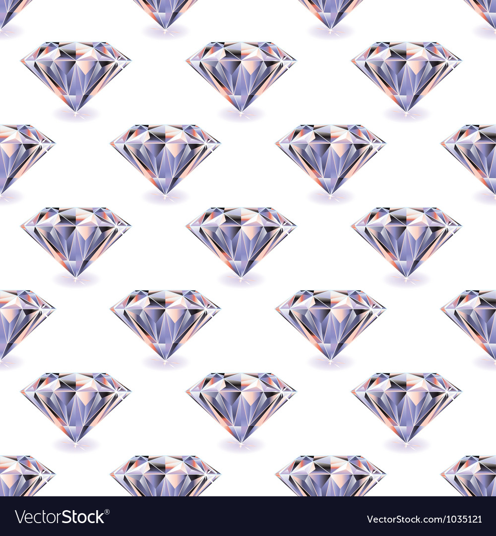 Diamond seamless repeat vector | Price: 1 Credit (USD $1)