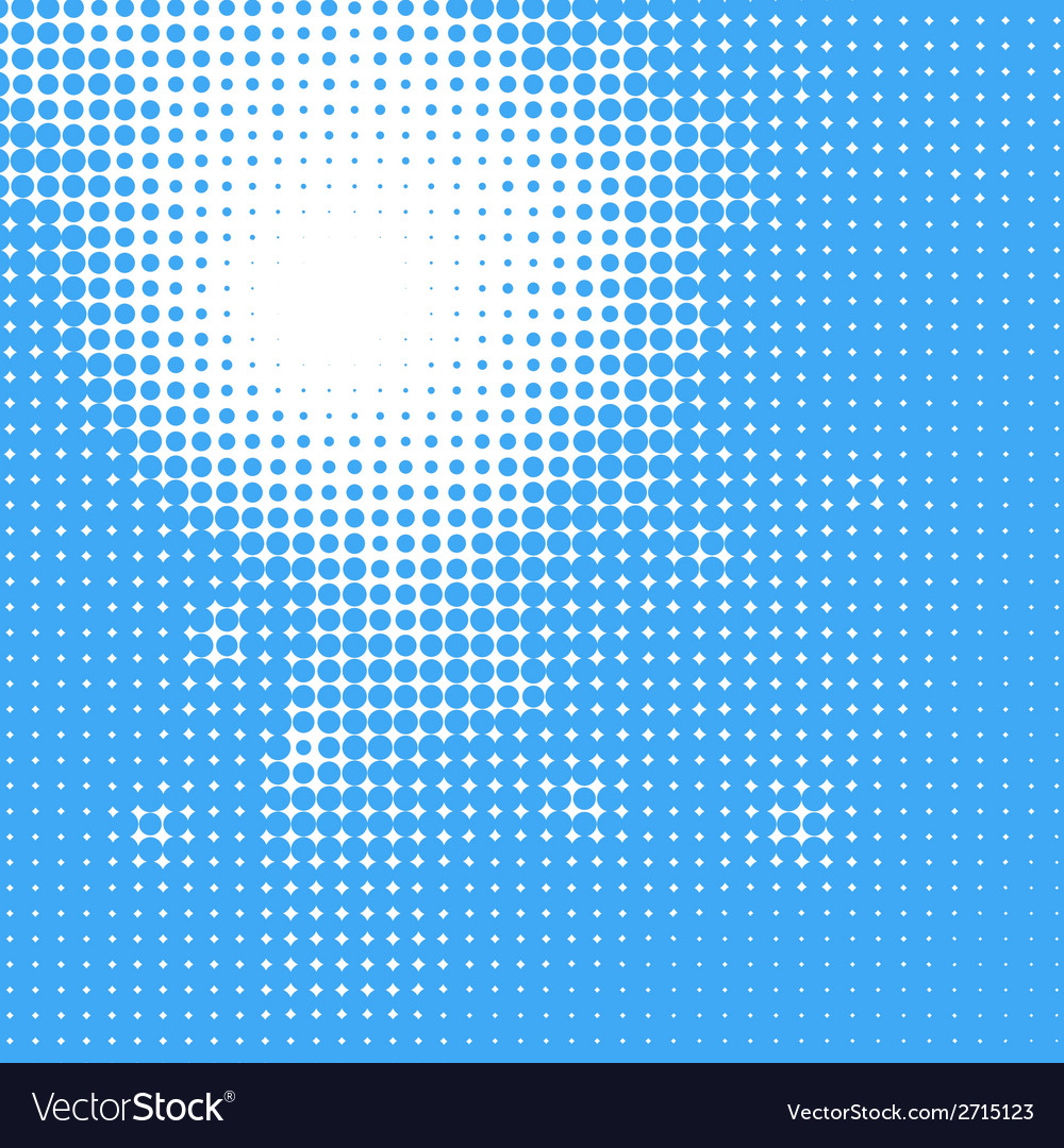 Abstract sun in the sky halftone background vector | Price: 1 Credit (USD $1)