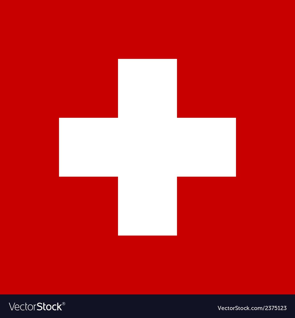 Flag of switzerland vector   Price: 1 Credit (USD $1)