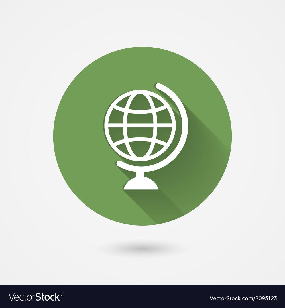 Globe icon vector   Price: 1 Credit (USD $1)