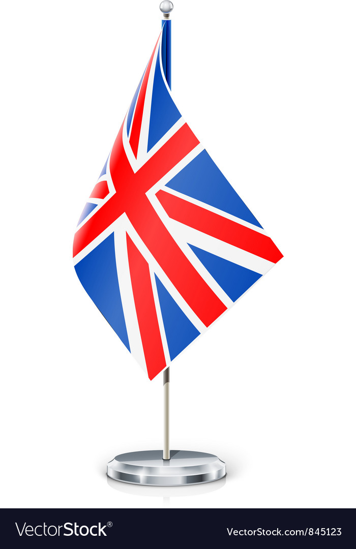 Great britain flag vector | Price: 1 Credit (USD $1)