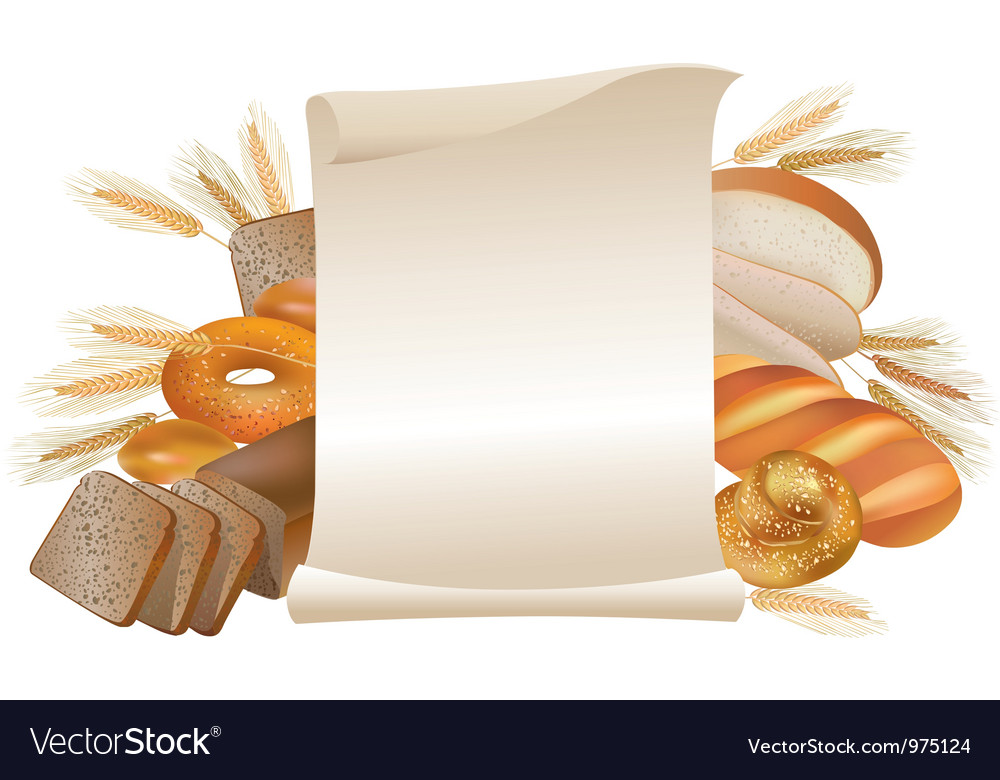 Bakery scroll vector | Price: 3 Credit (USD $3)