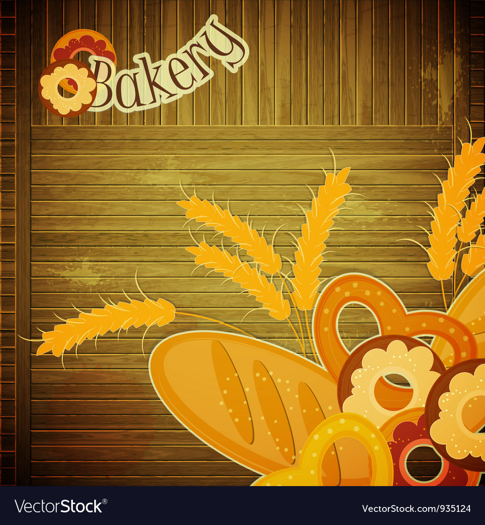 Design cover menu for bakery vector | Price: 1 Credit (USD $1)