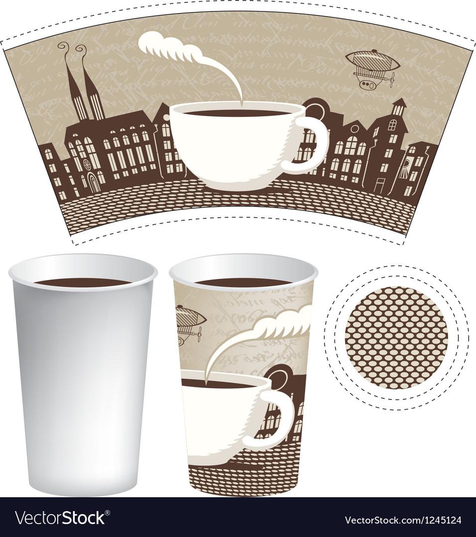 Paper cup vector | Price: 1 Credit (USD $1)