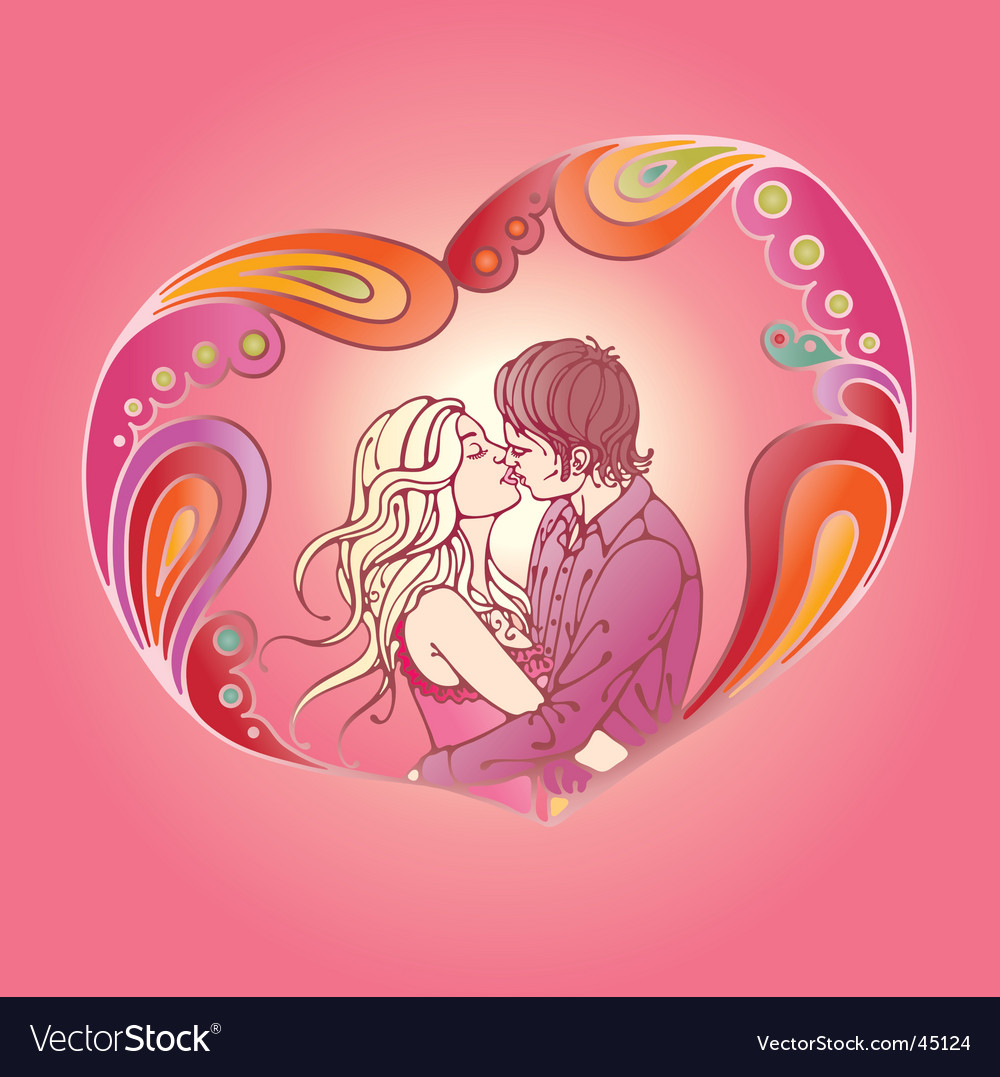 Visualization of love vector | Price: 1 Credit (USD $1)
