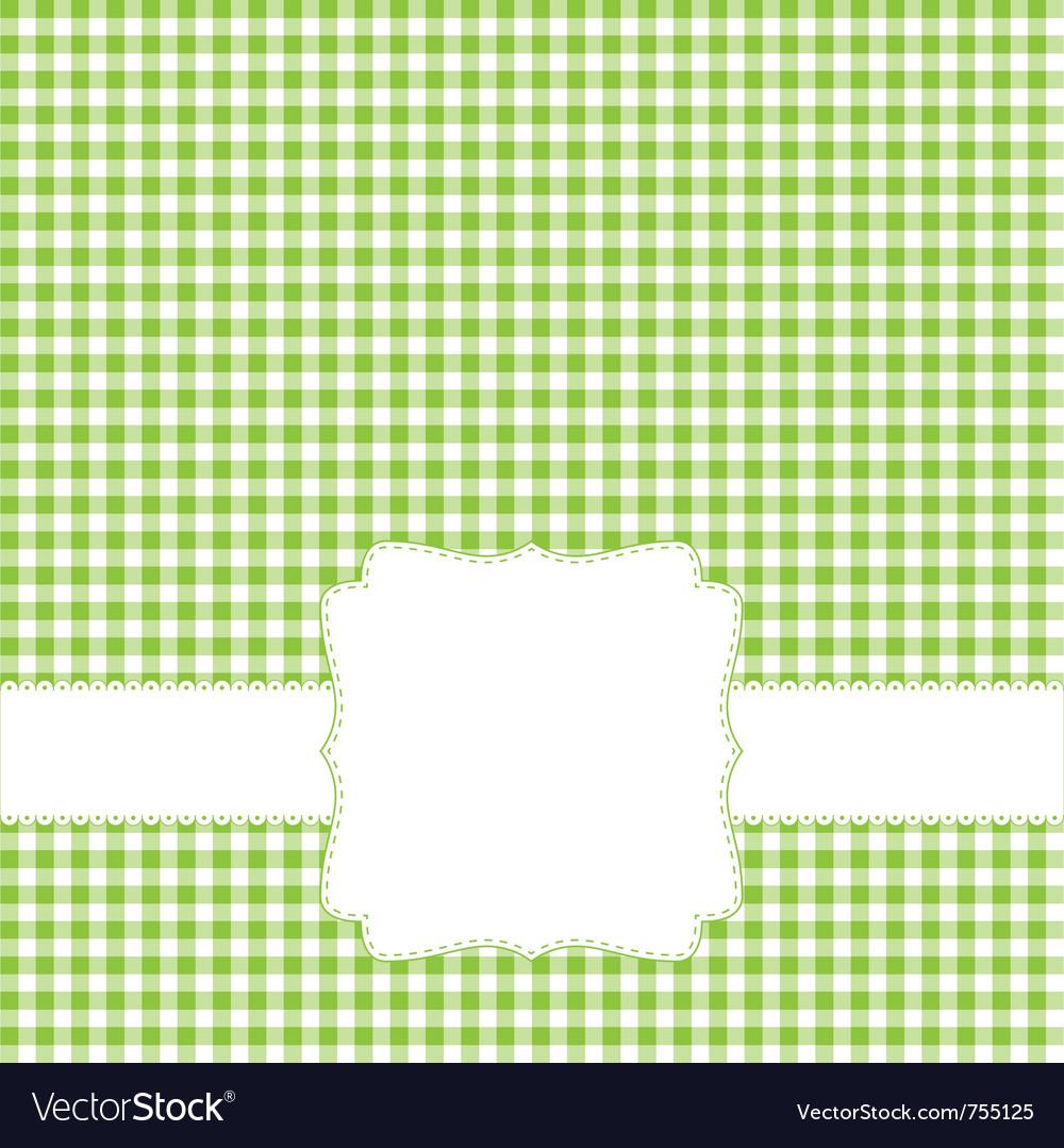 Green retro frame vector | Price: 1 Credit (USD $1)