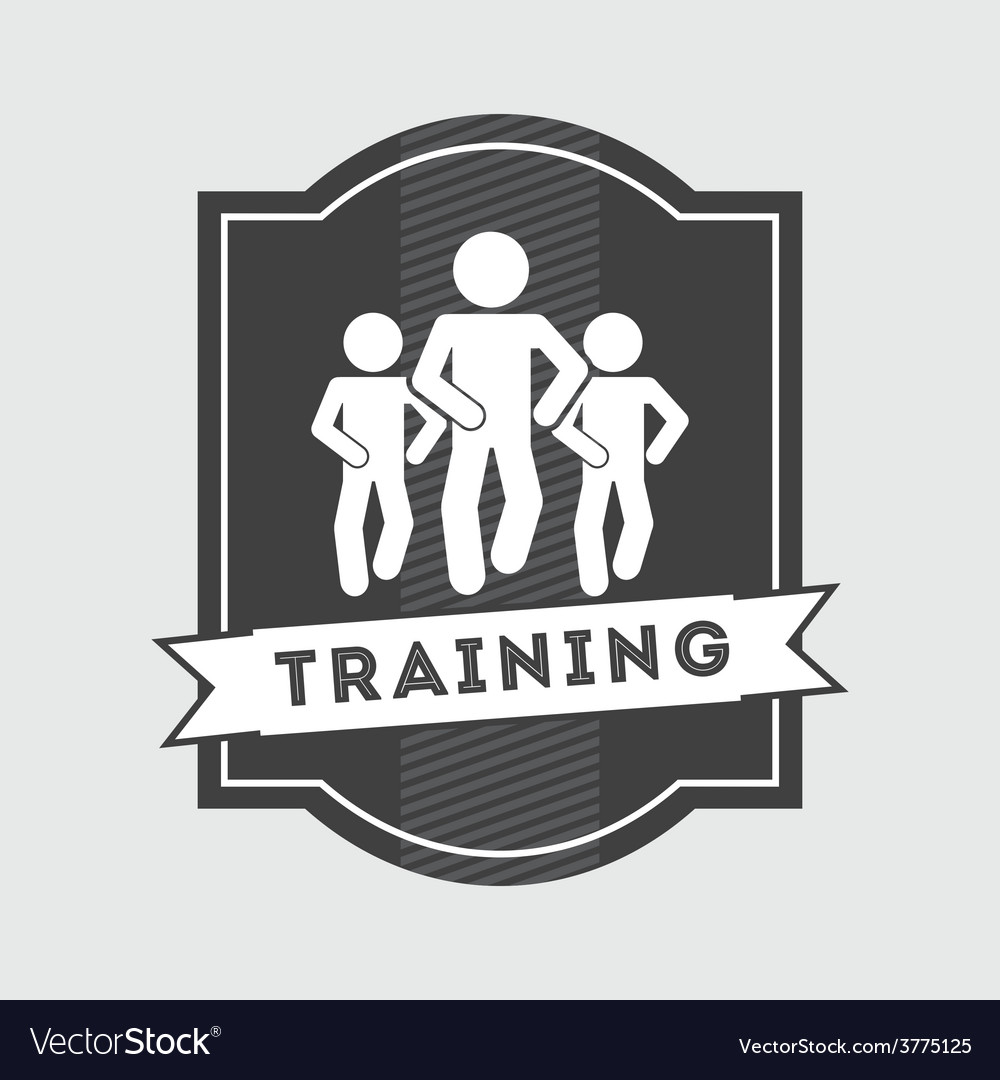 Training icon vector | Price: 1 Credit (USD $1)