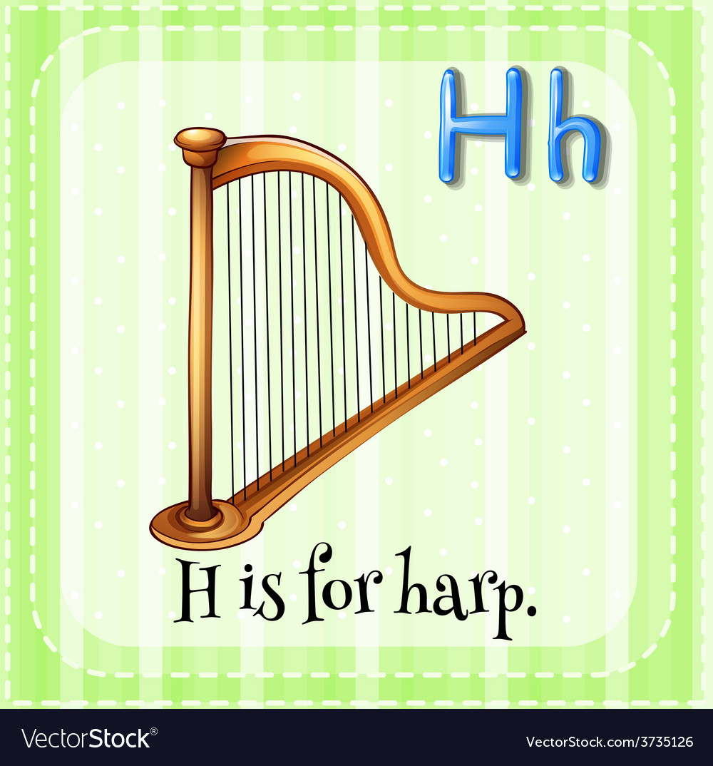 A letter h vector | Price: 1 Credit (USD $1)