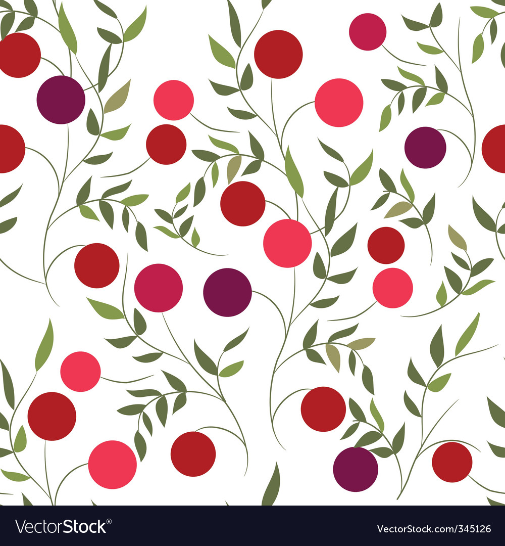 Pattern with berries vector   Price: 1 Credit (USD $1)