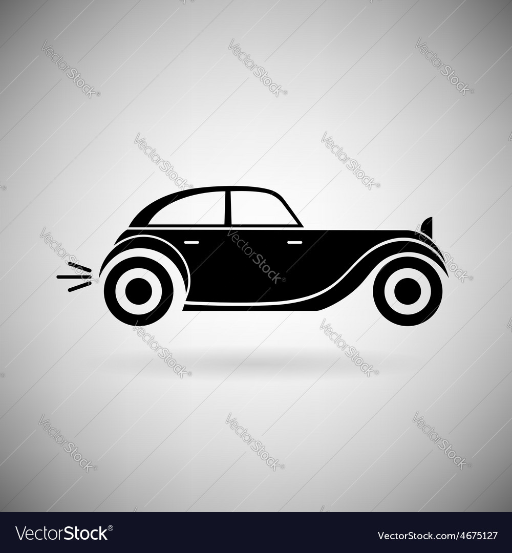Icon car vector | Price: 1 Credit (USD $1)